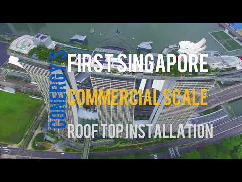Conergy's Solar Rooftop Installation on Marina Bay Sands
