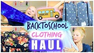 #BacktoSchool Clothing Haul! | BeautybyBlaire Thumbnail