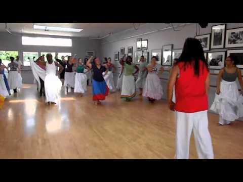 Arará Dance Class:  Afrekete (Yemayá) & Hebioso (Changó)
