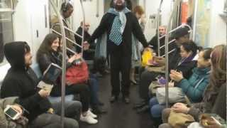 New Yorkers On The 5 Train Singing I Had A Little Draidle