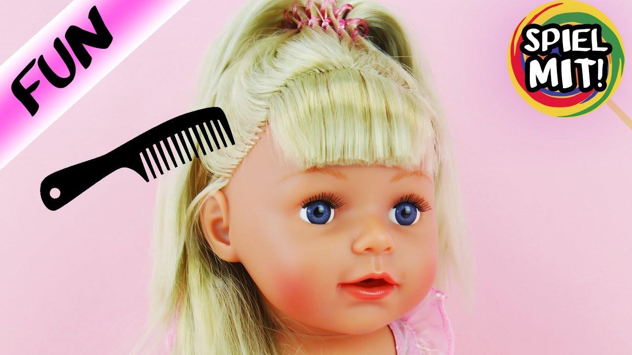 baby born mit langen haaren