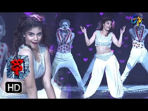 Aqsa Khan Performance | Dhee 10 |  21st February  2018| ETV Telugu