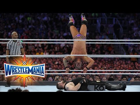 Chris Jericho vs. Kevin Owens - U.S. Title Match: WrestleMania 33 (WWE Network Exclusive)