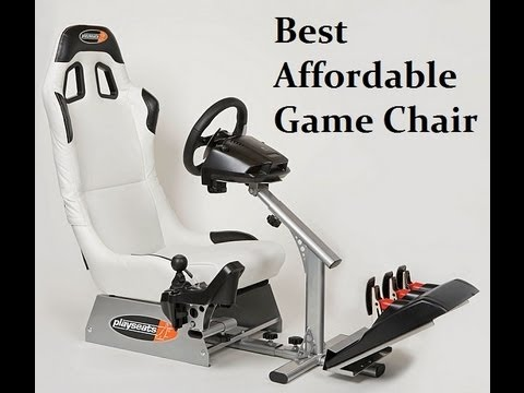 Best Affordable Racing Game Chair   Playseat Evolution Review