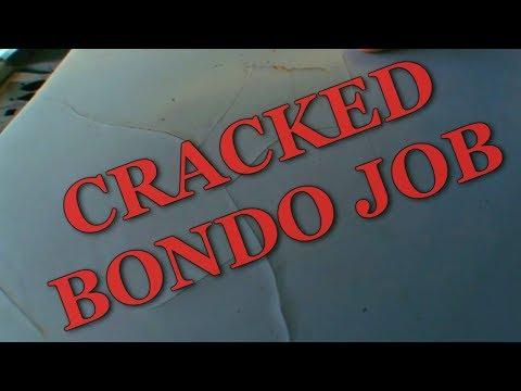 HUGE CRACKS IN BONDO – HOW TO FIX BONDO CRACKING #1