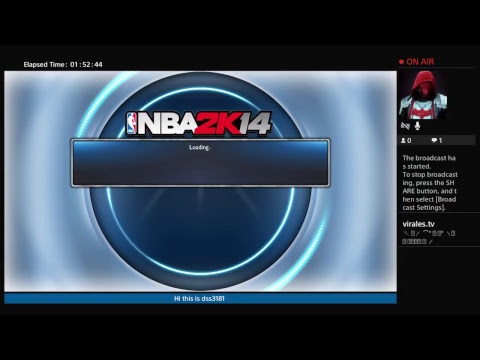 DSS3181's Live PS4 Broadcasting NBA 2K14
