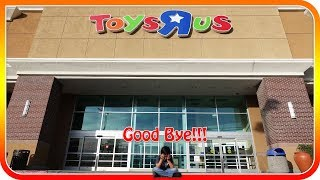 Bye Bye Toys R Us Closed Its Door Forever!!!