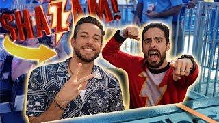 BERTH VS UN SUPERHÉROE! Shazam ⚡️