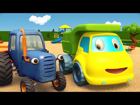 Мультфильм желтый грузовик