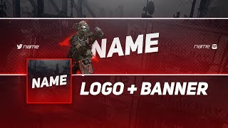 Apex Legends Themed YouTube Logo & Banner Template | FREE | Photoshop CC