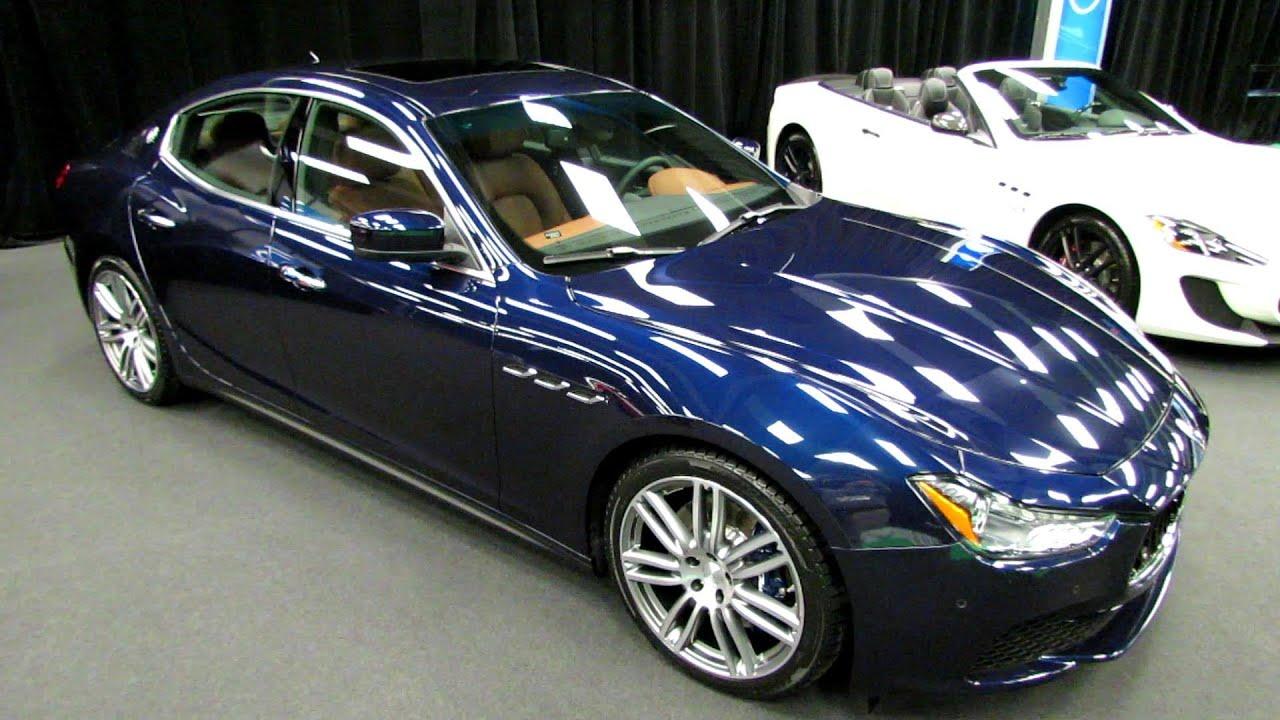 Maserati Ghibli Q4 >> 2014 Maserati Ghibli Q4 - Exterior and Interior Walkaround ...