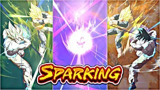 4 SPARKINGS BACK TO BACK!?! | MY LUCKIEST DRAGON BALL LEGENDS SUMMON VIDEO! | DBL Summons!