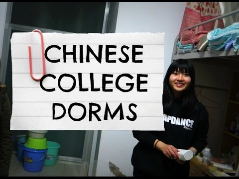 CHINESE COLLEGE DORMS | Living in China: VLOG 22