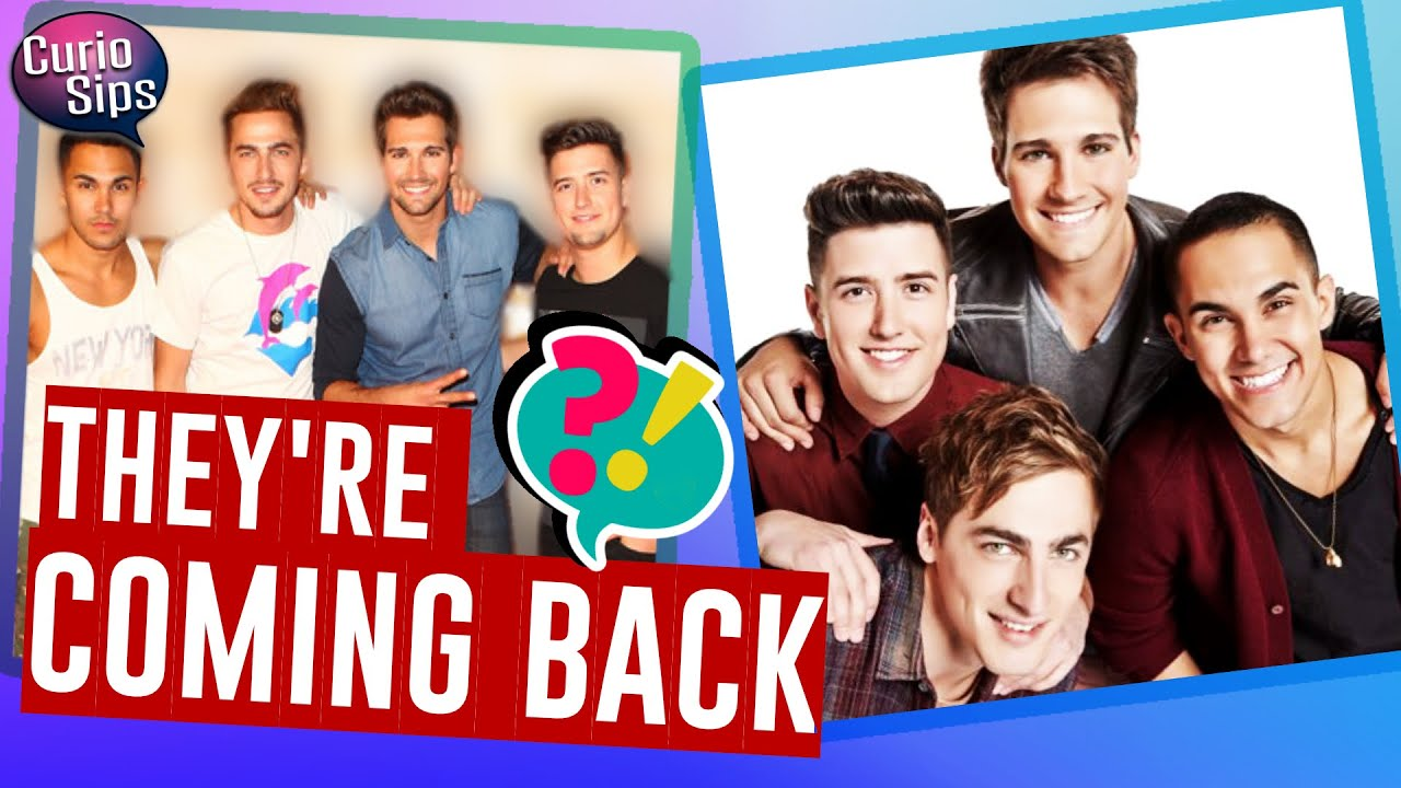 Big Time Rush is making a big-time concert comeback