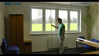 Video návod - Jak zaměřit žaluzie do interiéru (vertikální)