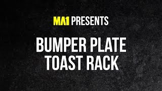 MA1 Bumper Plate Toast Rack