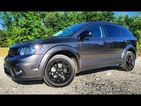 2017 Dodge Journey GT Fiat Freemont First Person In Depth Review
