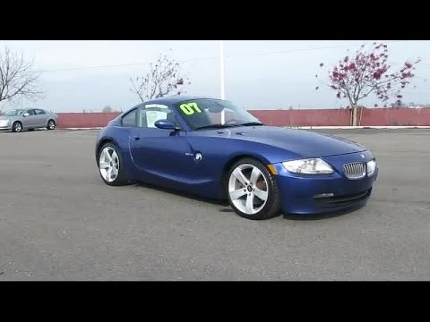2007 BMW Z4 Coupe 3.0si Tracy Stockton Modesto Manteca Antioch