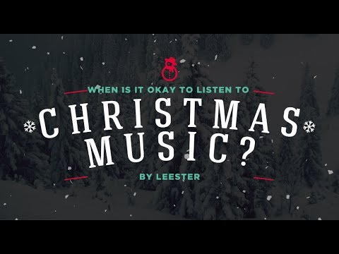 When Is it Okay To Listen To Christmas Music?
