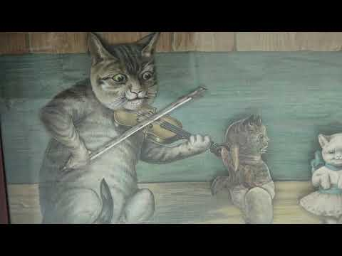Dancing Cats: Antique Musical Automaton