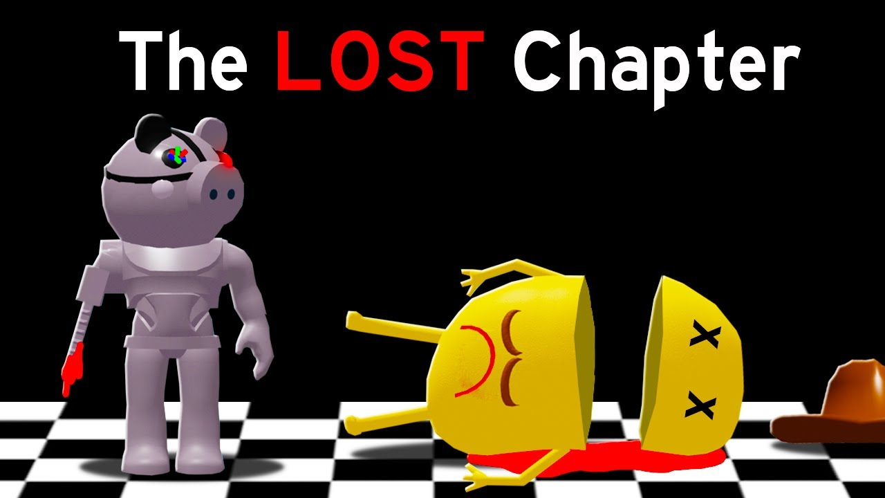 THE LOST PIGGY CHAPTERS in PIGGY in Roblox!