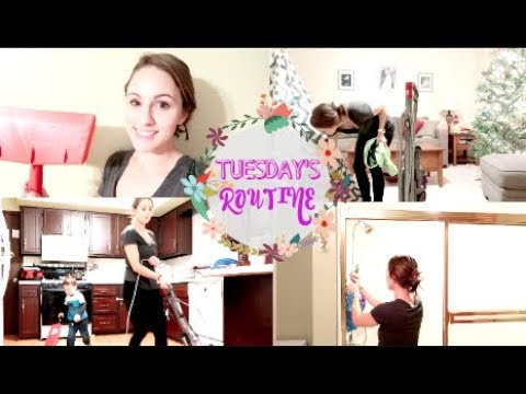 Clean With Me! TUESDAY'S cleaning routine!