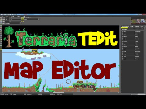 TEdit Tutorial: Terraria Map Viewer/Editor, 1.3.1 PC (with download links!)