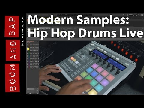 Boom And Bap: Modern Samples Hip Hop Drums Live Review
