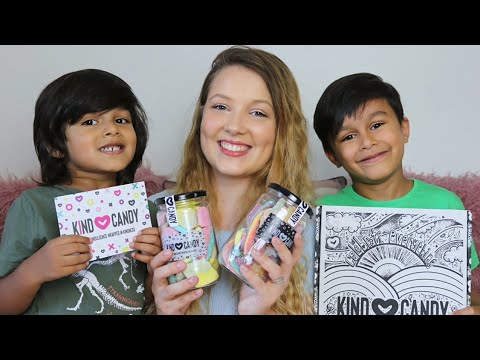KIND CANDY REVIEW | GLUTEN FREE + DAIRY FREE CANDY | Sammy Louise