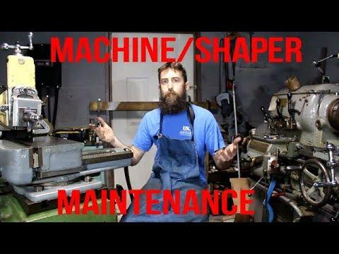 General Machine Shop / Metal Shaper Maintenance