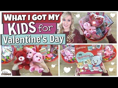 What I Got My Kids For VALENTINE'S DAY ❤ Dollar Tree + Walmart