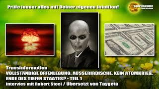 Offenlegung, Ausserirdische, Atomkrieg, Tiefer Staat - Interview Teil 1 - Transinformation.net