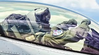 Kong Takes-Off In His F-16 Fighting Falcon