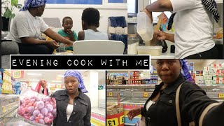 EVENING COOKING FOR MY FAMILY AND eat WITH US ,  QUICK AFRICA FOOD SHOPPING