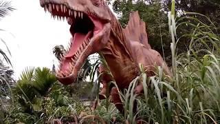 The Pardiyantos goes to Petualangan Dinosaurus Taman Legenda TMII