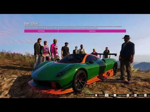 GTA Online Stunt - Chiliad