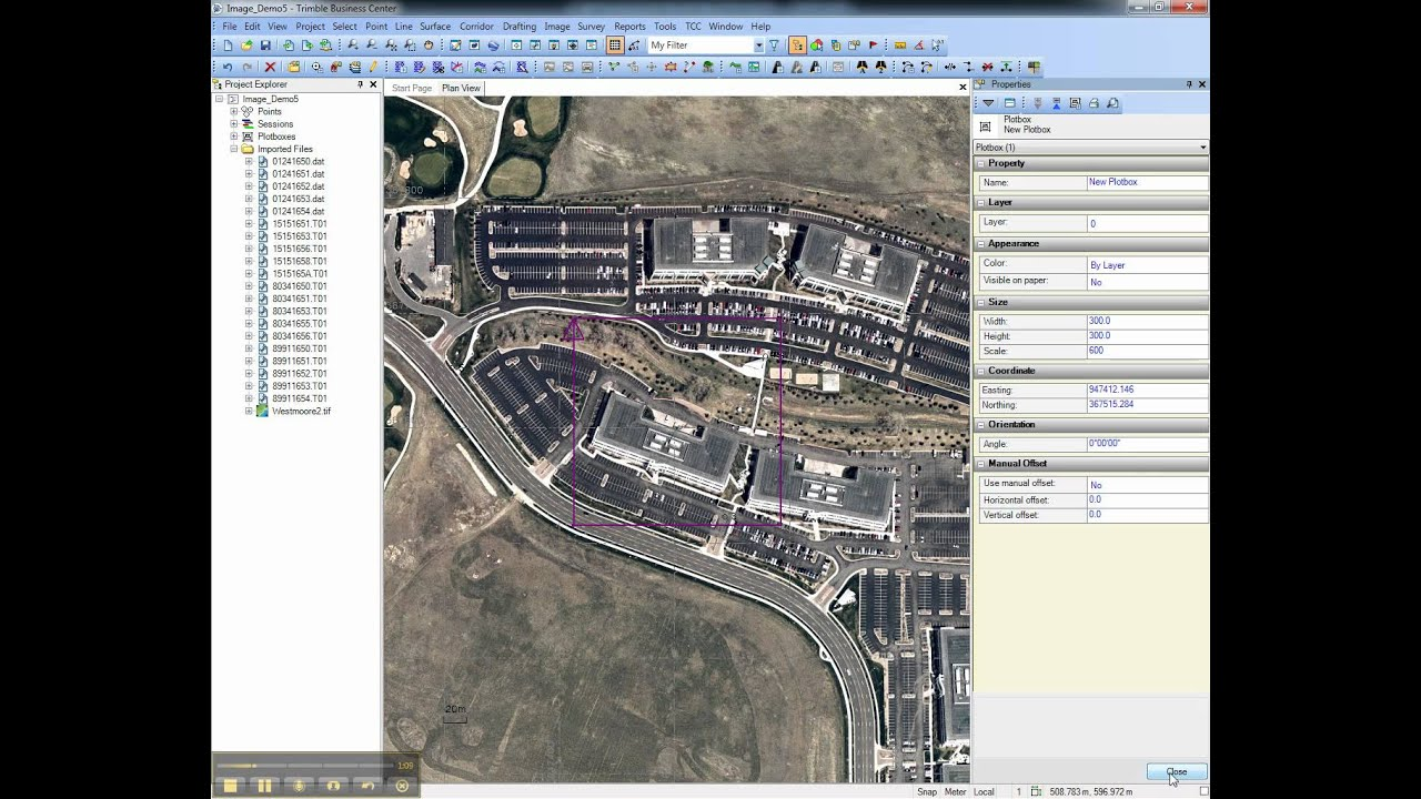 Create Georeferenced Image for Trimble Access