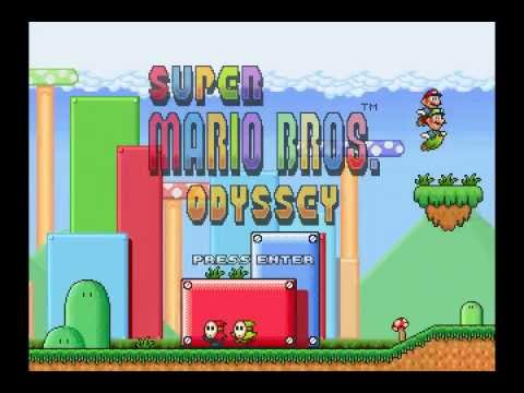 Fangame Project Super Mario Bros Odyssey Intro