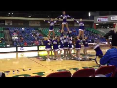 Stanley high school cheerleaders- dance at MSU