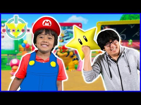 Mario Party Pt 2 STAR CHALLENGE Lets Play with Ryan Vs Daddy