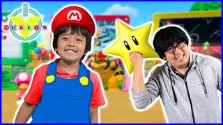 Mario Party  STAR CHALLENGE Let's Play with Ryan Vs Daddy
