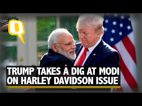 Harley-Davidson Issue: US 'Getting Nothing' as India Slashes Duty