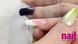 How To Create Perfect Pink & White Nails Using Artisan FlexGel / PolyGel / AcryGel | Video Tutorial