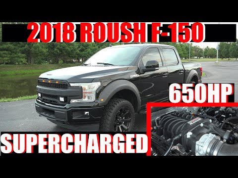 2018 ROUSH F-150 SUPERCHARGER 650HP TRUCK 18 SUPERCHARGED 19