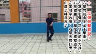 軍體拳第一套 - 一至十六式教學(中文字幕)