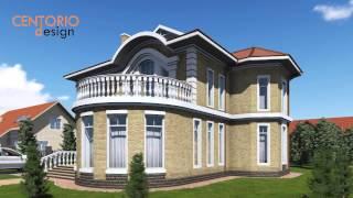 Проекты коттеджей(Большой солидный коттедж в классическом стиле. Эффектное оформление окон, сочетание натурального камня..., 2015-03-25T09:22:44.000Z)