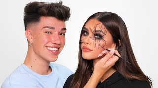 Doing Madison Beer's Halloween Makeup!
