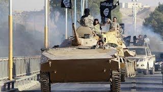 IŞİD'in tanklı 'hilafet' kutlaması - BBC TÜRKÇE