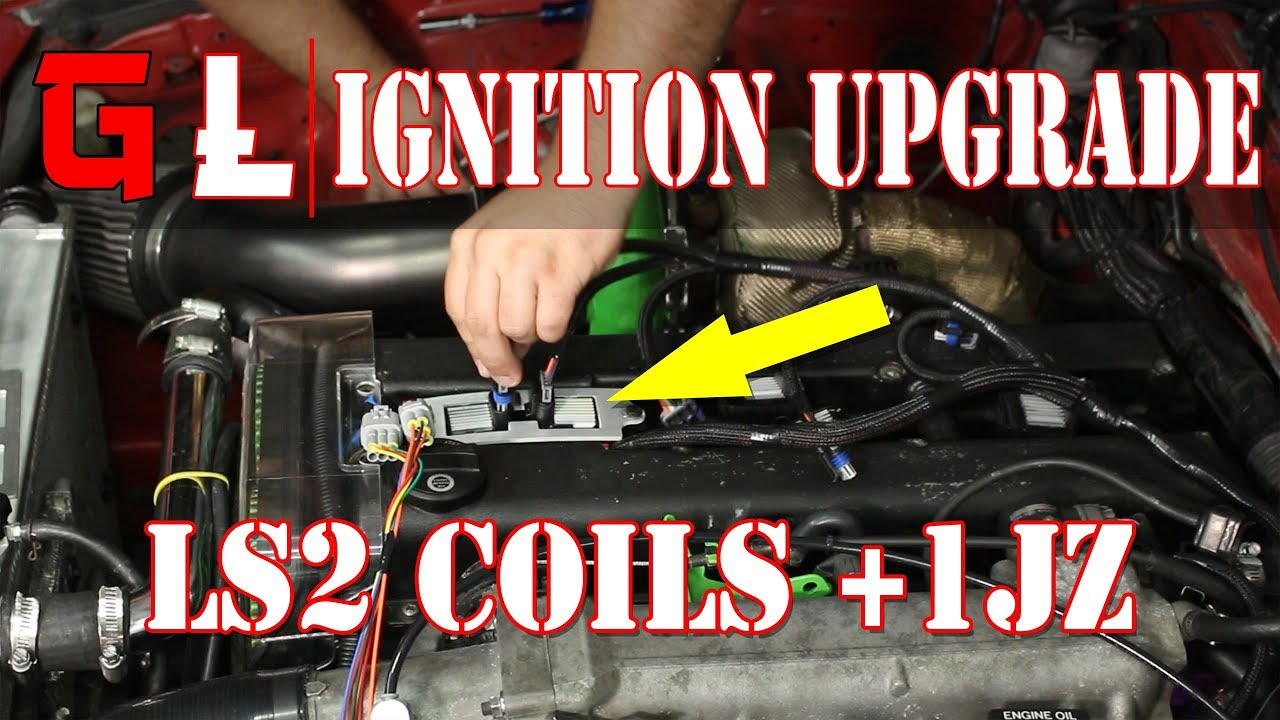 ls2 ignition coil upgrade 1jzgte stock ecu lq9 ignition coil how to [ 1280 x 720 Pixel ]