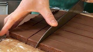 [バレンタインチョコ]生チョコレートの作り方。#120 Chocolate Ganache